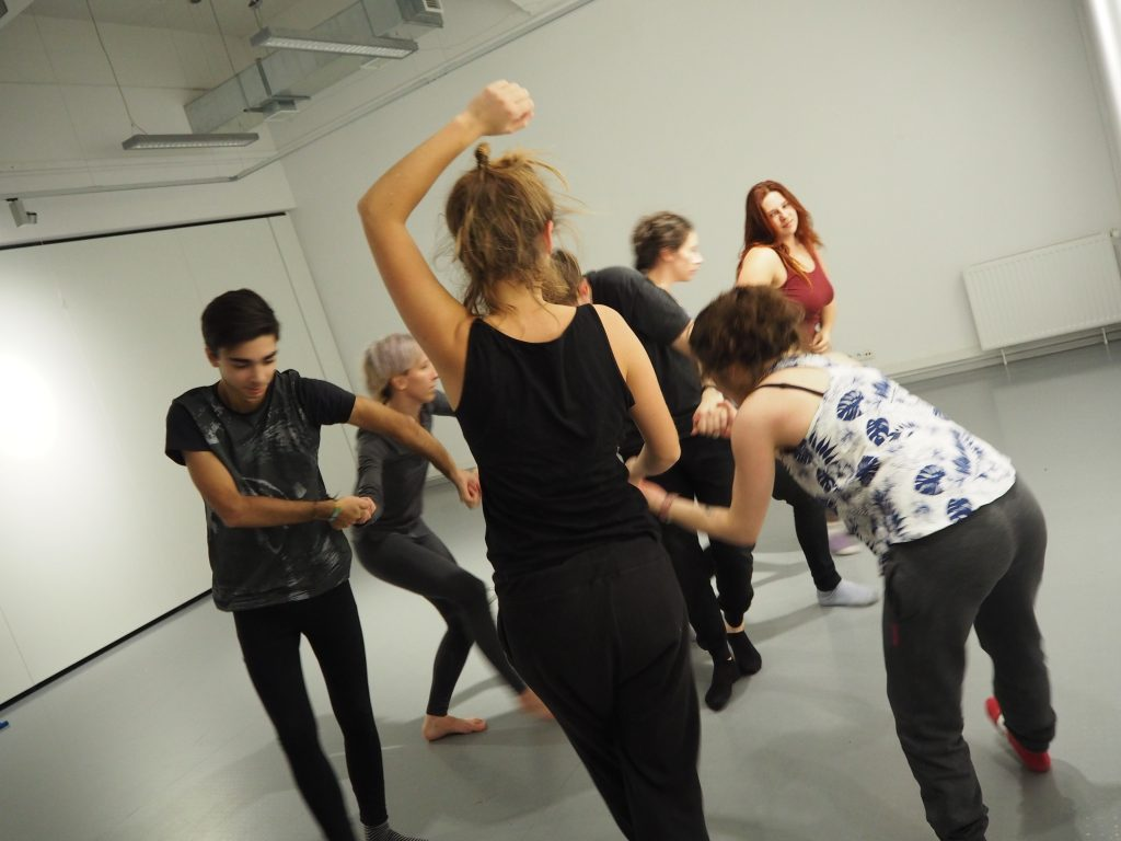 POGODA CIAŁA /CHEERFULL BODY WORKSHOP at ACADEMY of FINE ARTS Gdańsk, Poland 2016